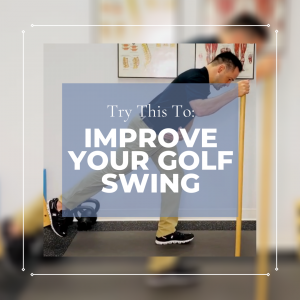 Try This To Improve Your Golf Swing