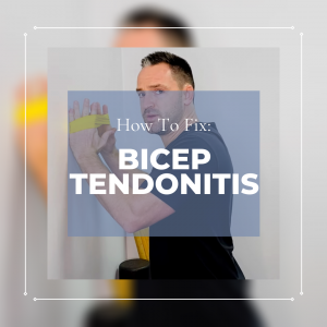 How to fix Bicep Tendonitis